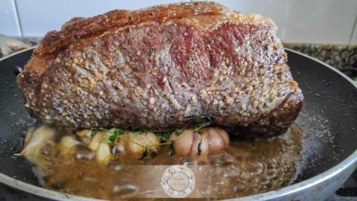 A receita definitiva de carne de vaca