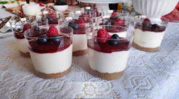 Cheesecake no Copo