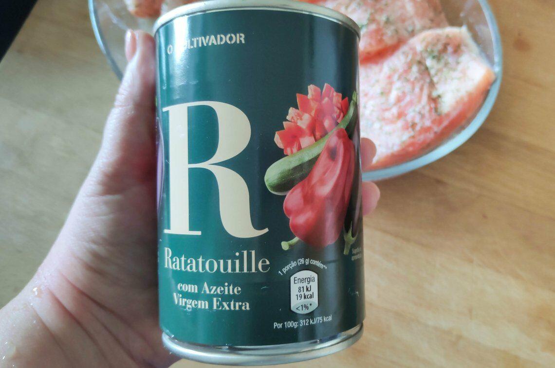 Gosto de: Ratatouille