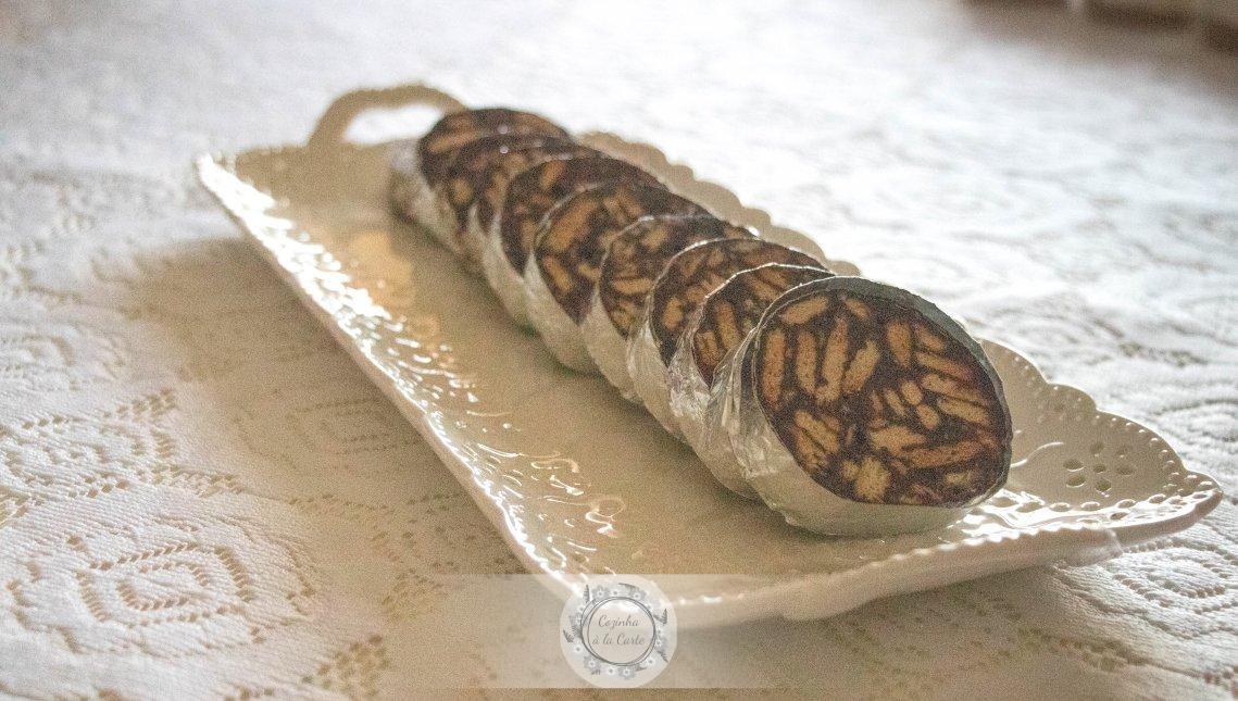 Salame de Chocolate da VoVó Teresa