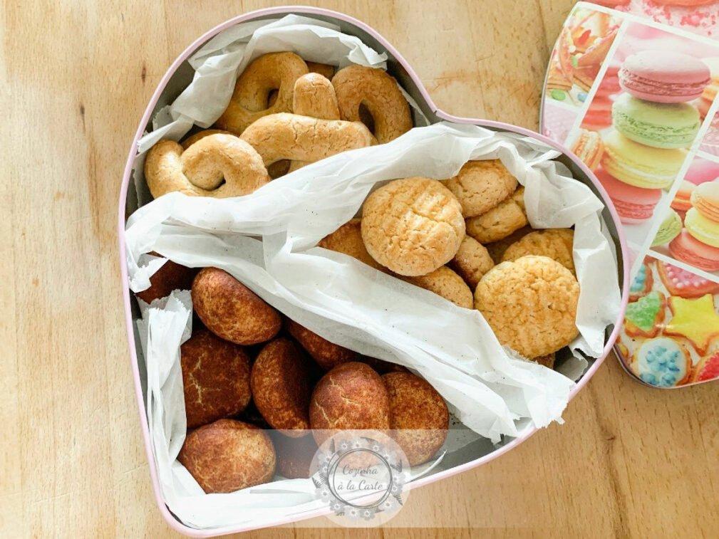 Lata com Biscoitos