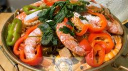 Cataplana de Carne e Marisco