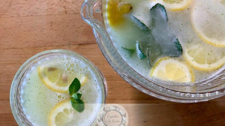 Limonada com Hortelã