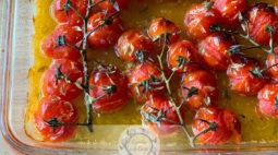 Tomatinhos Cherry Assados