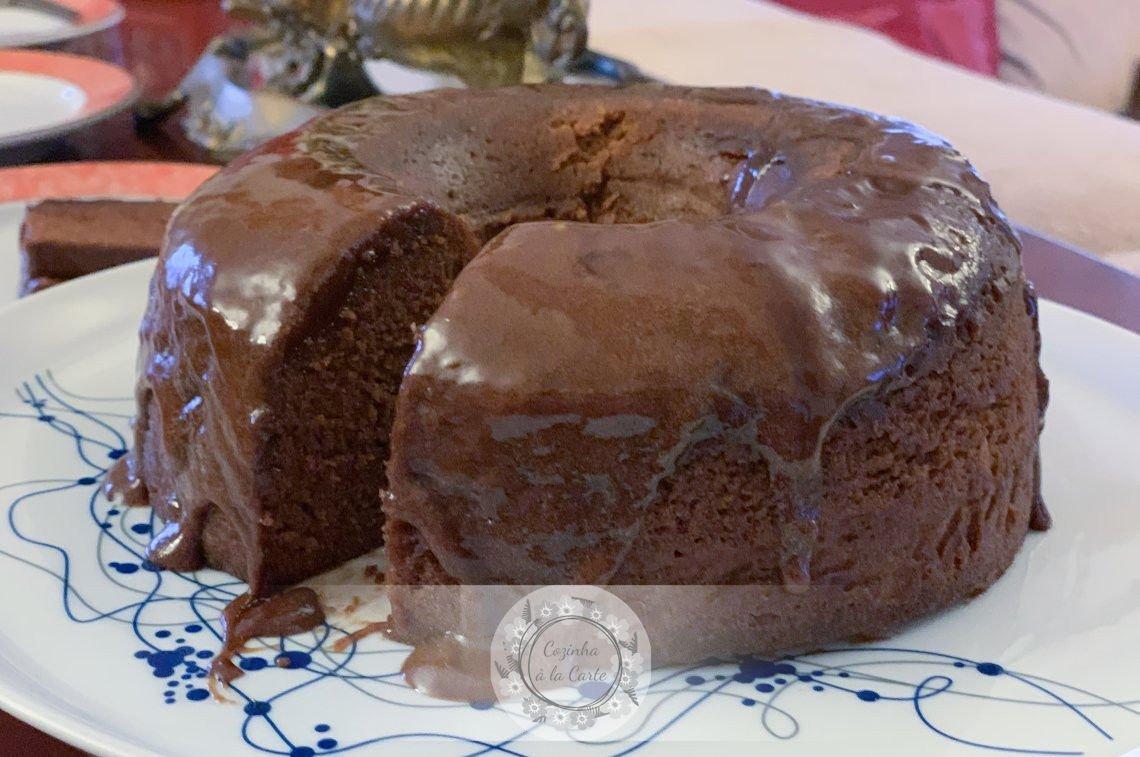 Bolo de Chocolate no Microondas