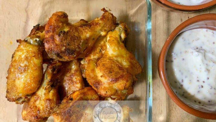 Chicken Wings no Forno (Asas de Frango)