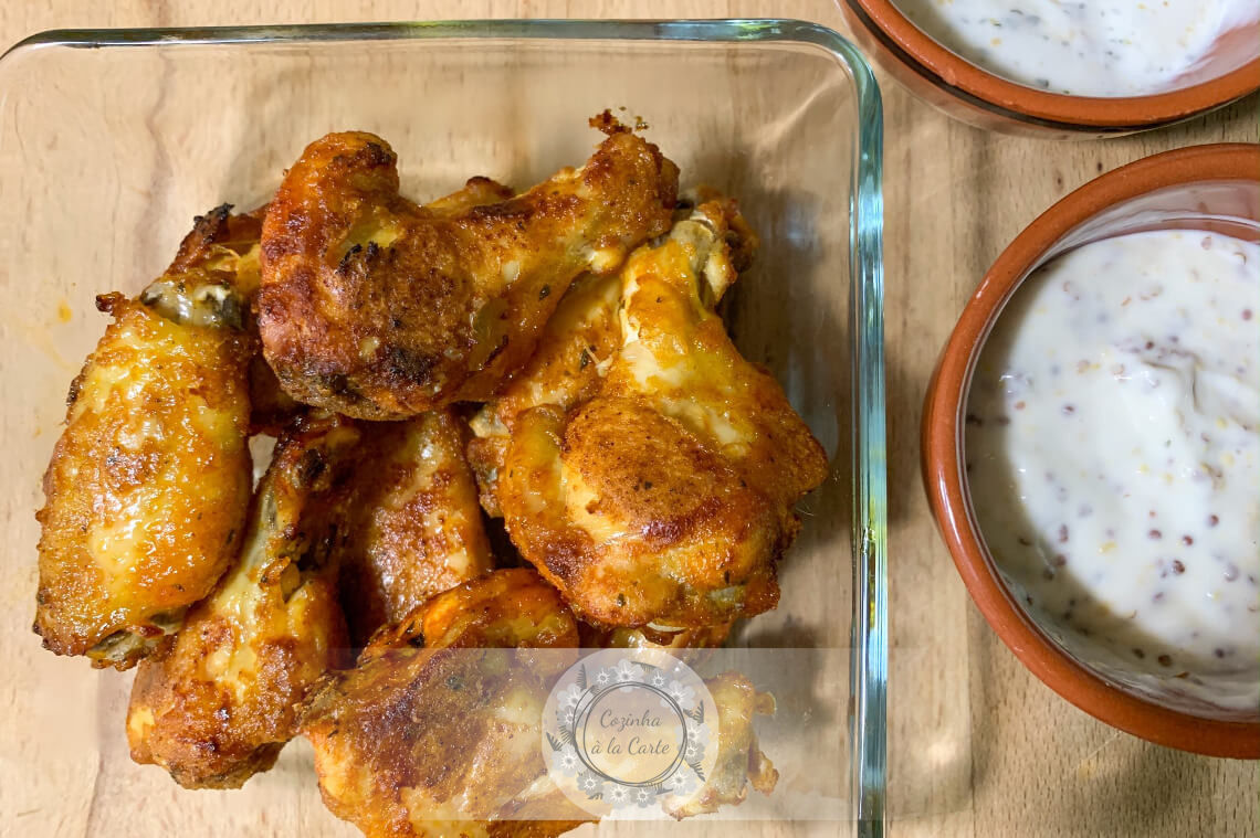 Chicken Wings no Forno