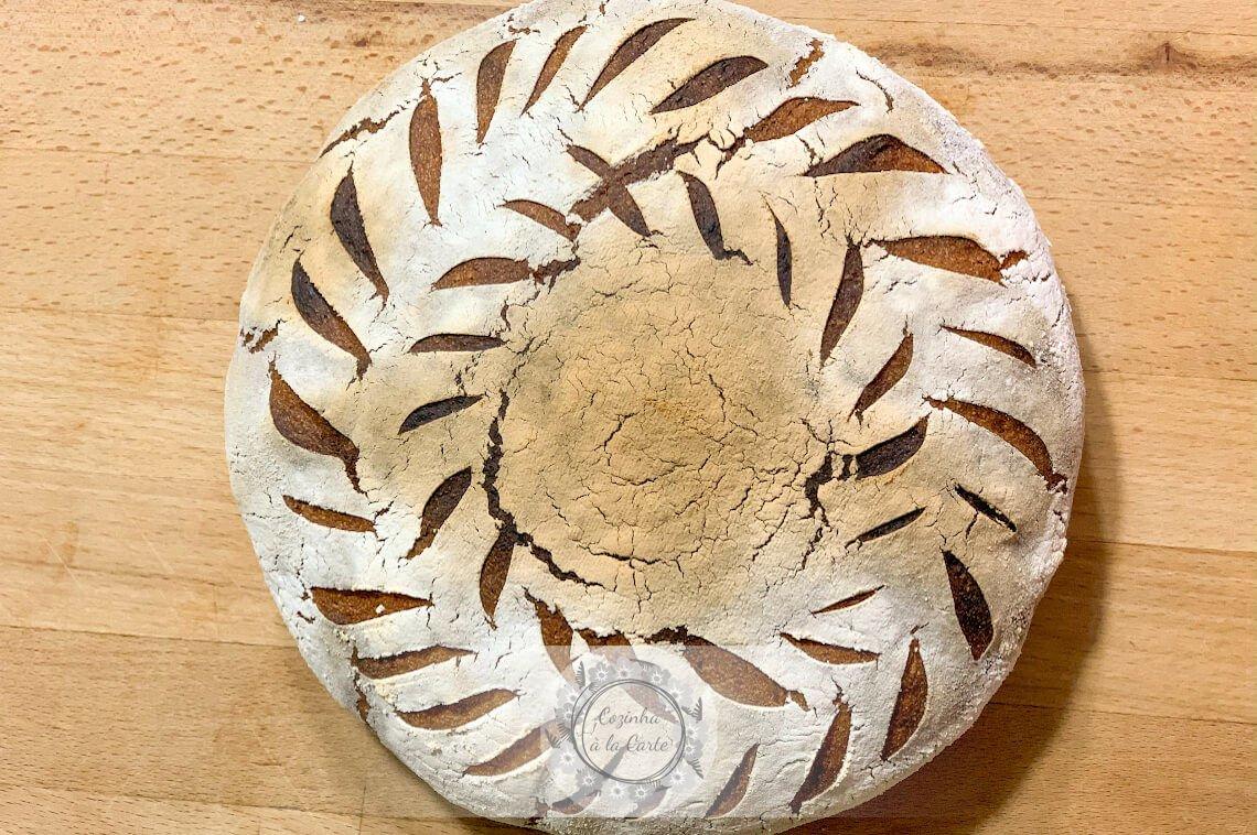 Pão de Mistura (70% Trigo, 30% Centeio)