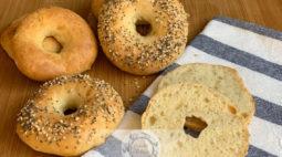 Bagels de Dois Ingredientes