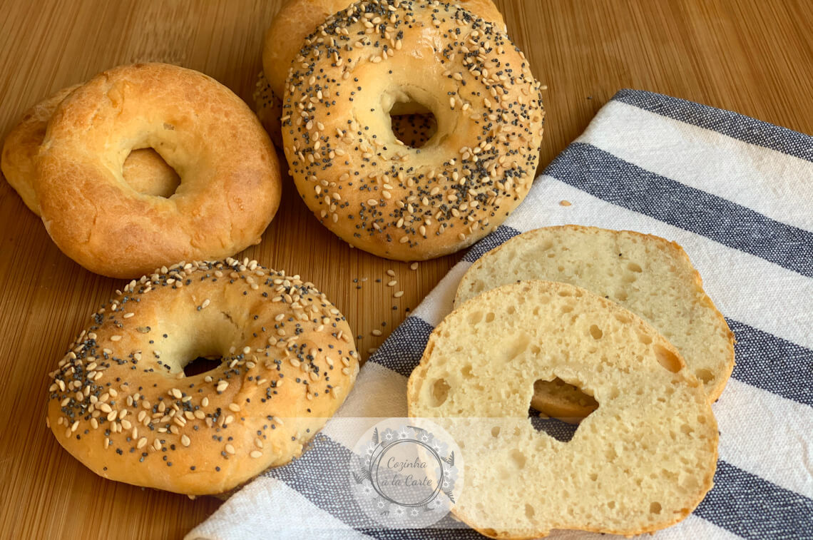 Bagels com Dois Ingredientes