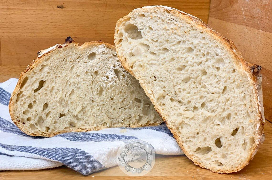 Pão de Trigo sem Amassar