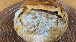 Pão de Trigo, Espelta e Sementes sem Amassar