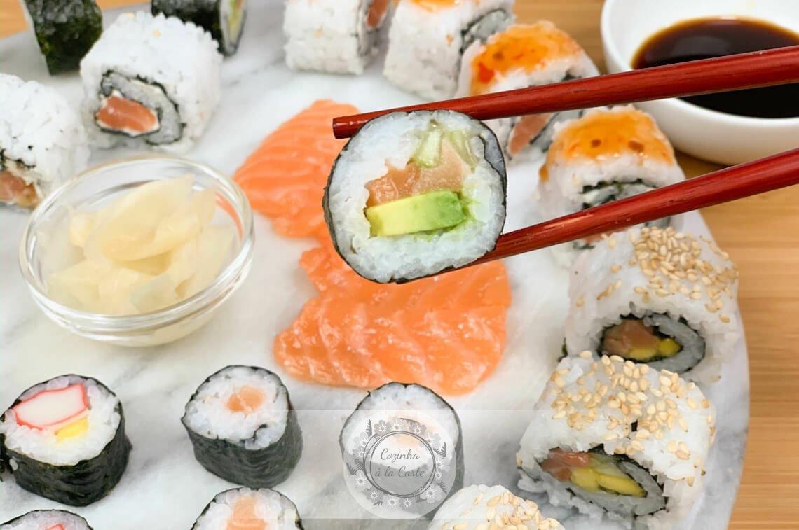 Fazer Sushi em Casa