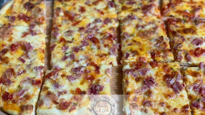 Pizza com Massa de Espelta