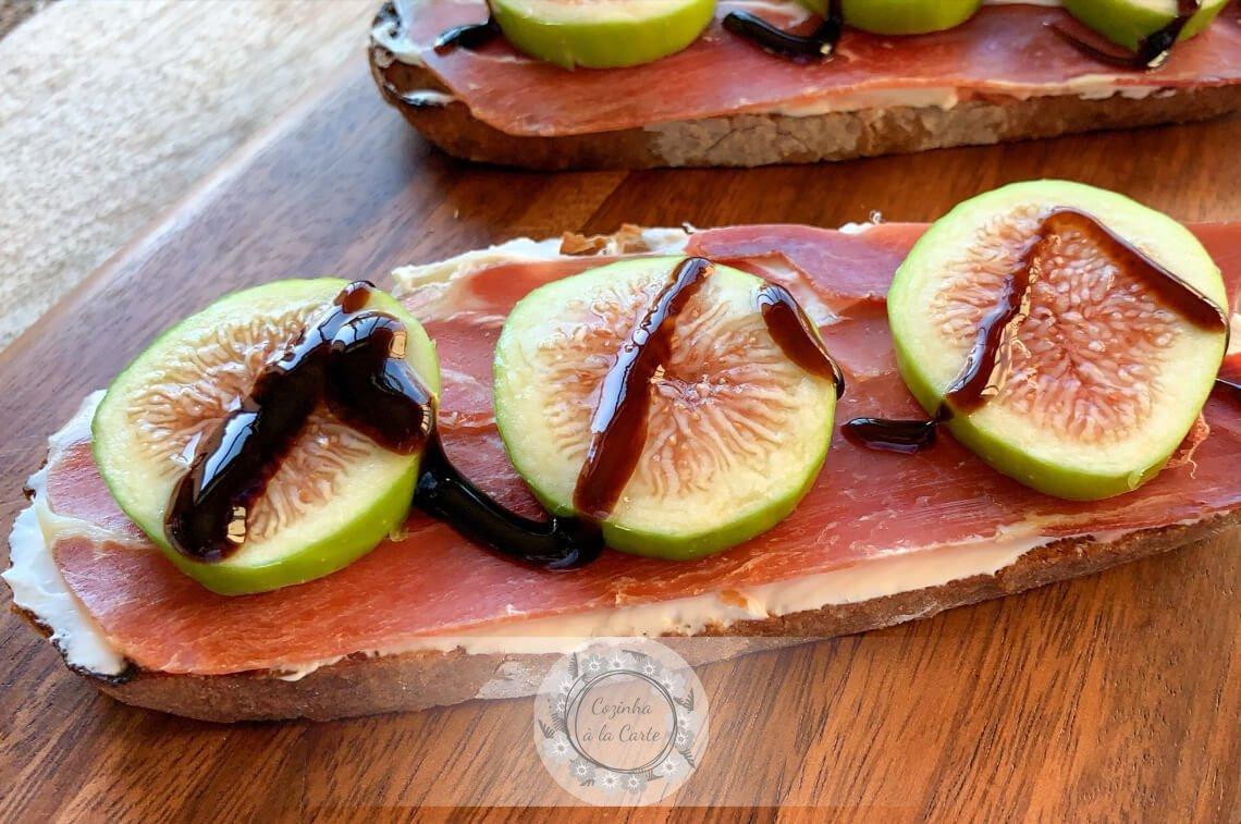 Tapa de Figo e Presunto