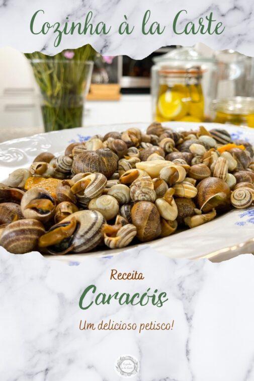 Caracóis Cozidos à Algarvia
